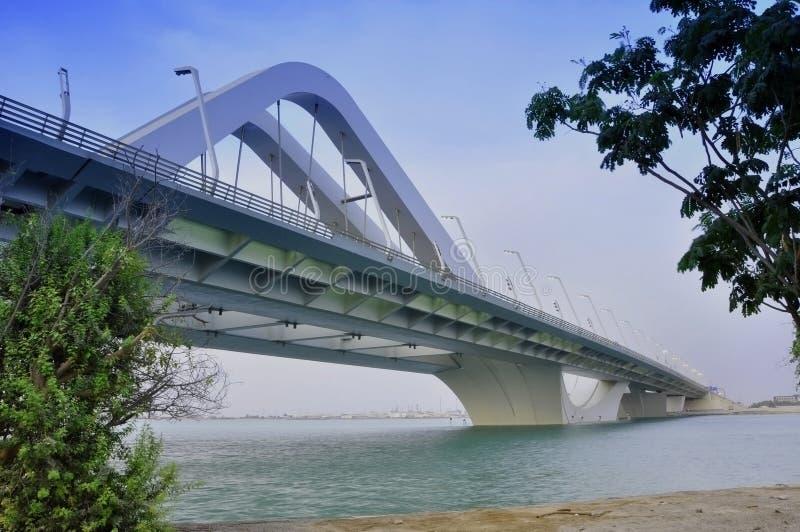 Sheikh Zayed Bridge arkivfoton