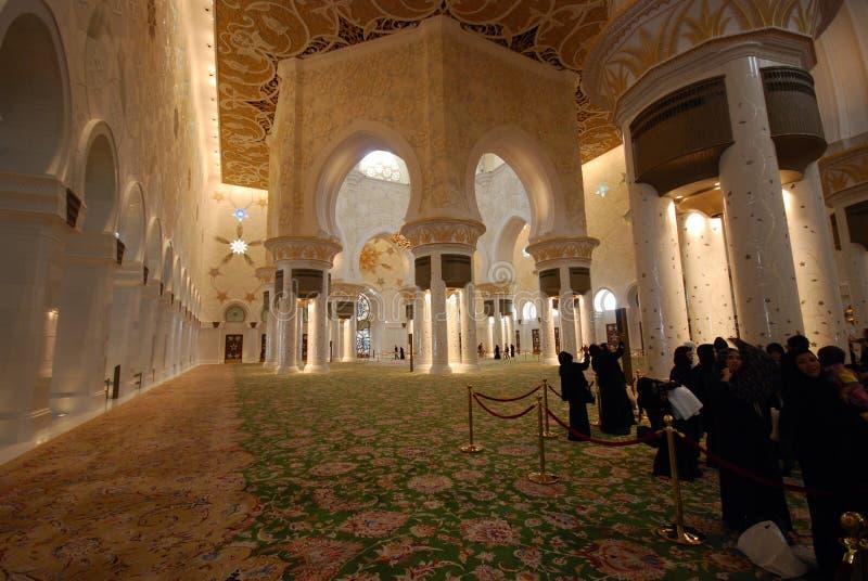 Sheikh Zayed Grand Mosque stock fotografie