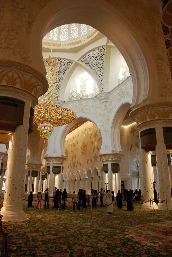 Sheikh Zayed Grand Mosque royalty-vrije stock foto