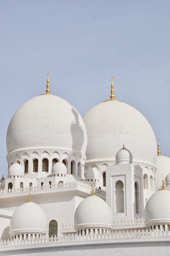 Sheikh Zayed Grand Mosque, Abu Dhabi, die Emirate stockbilder