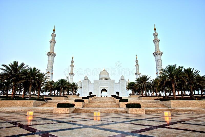 Sheikh Zayed Grand Mosque in Abu Dhabi. UAE stock photos