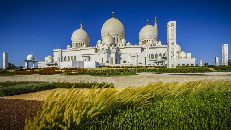 Sheikh Zayed Grand Mosque en Abu Dhabi 4 photos libres de droits