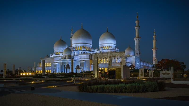 Sheikh Zayed Grand Mosque en Abu Dhabi 6 image libre de droits