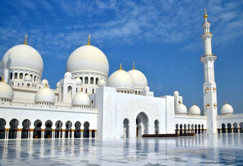 Sheikh Zayed Grande Mesquita, Abu Dhabi, UAE fotografia de stock