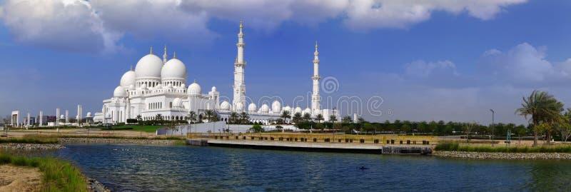 Sheikh Zayed meczet w Abu Dhabi, UAE obraz stock