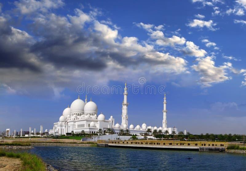 Sheikh Zayed meczet w Abu Dhabi, UAE fotografia royalty free