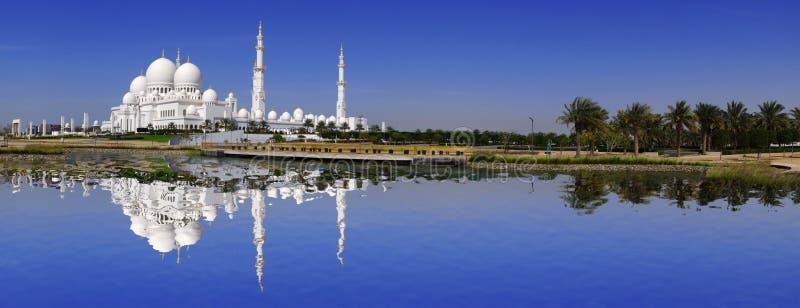 Sheikh Zayed-moskee in Abu Dhabi, de V.A.E royalty-vrije stock foto's