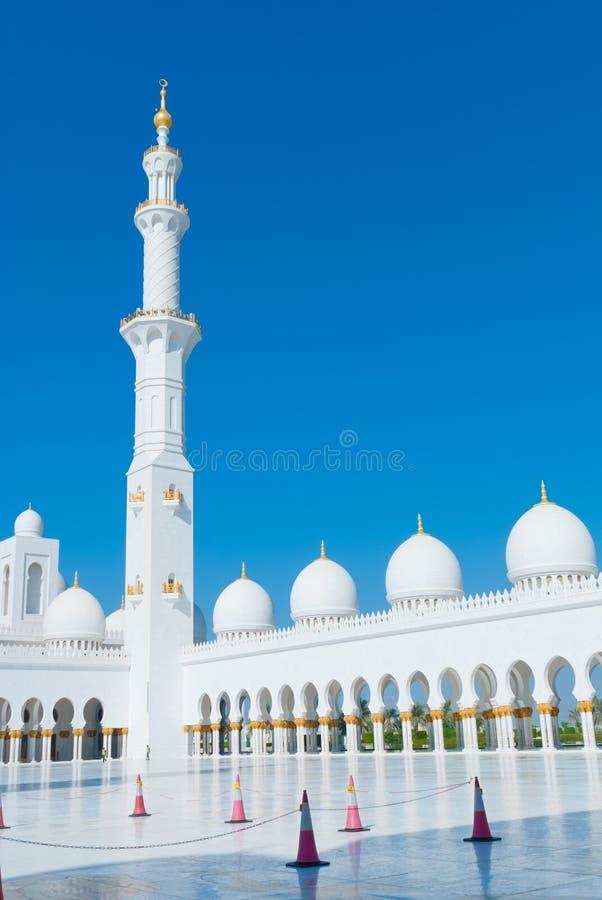 Sheikh Zayed Mosque imagens de stock