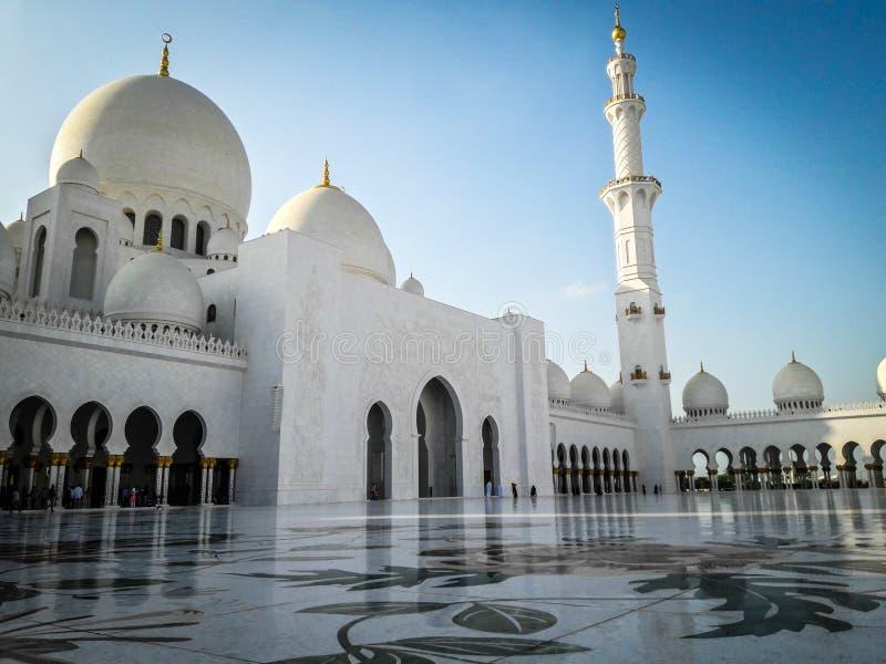 Sheikh Zayed Mosque, Abu Dhabi UAE stock photography