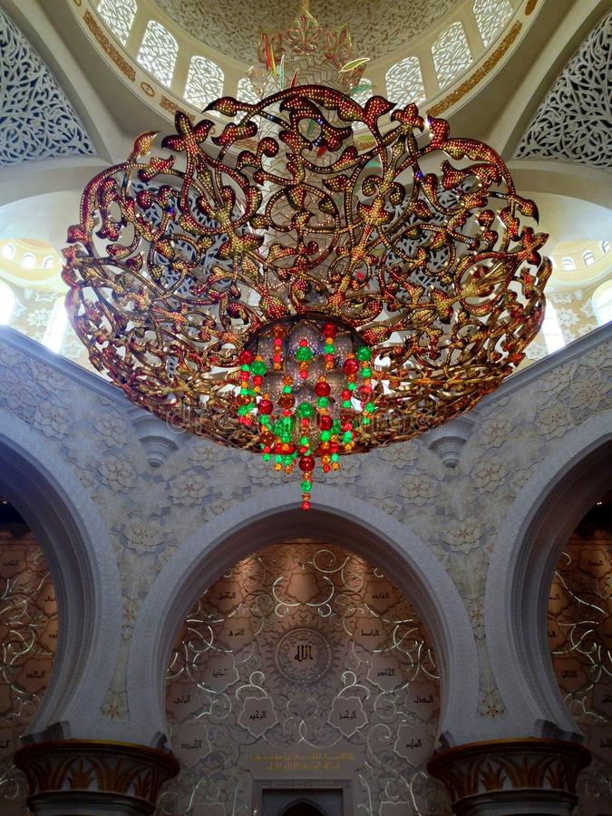 Download Sheikh Zayed Mosque In Abu Dhabi Editorial Stock Image - Image: 39893229