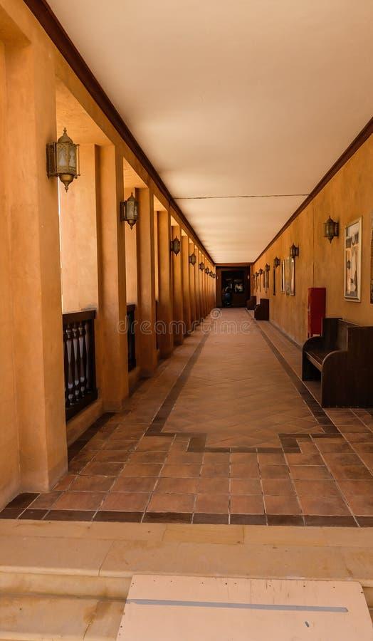 Sheikh Zayed Pal?cio Museu Al Ain, UAE imagem de stock royalty free
