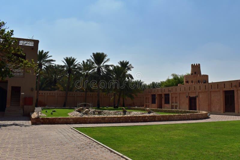 Sheikh Zayed Palace Museum, als wordt bekend die ook stock afbeeldingen