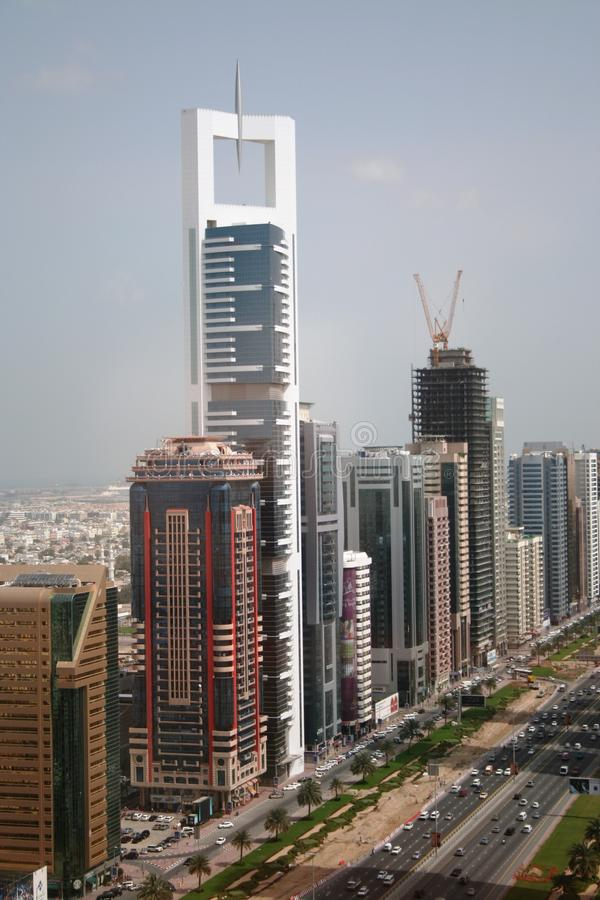 Download Sheikh Zayed Road Dubai UAE Editorial Image - Image: 18450220