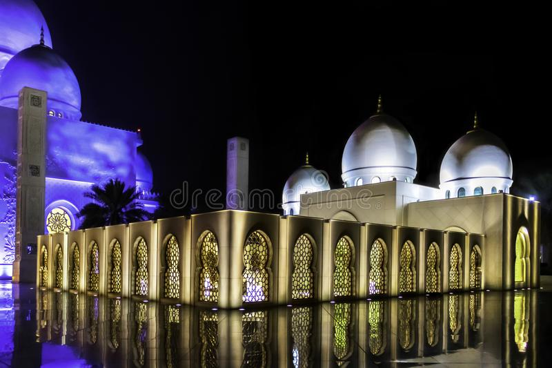 Sheikh Zayed Tomb stock afbeelding