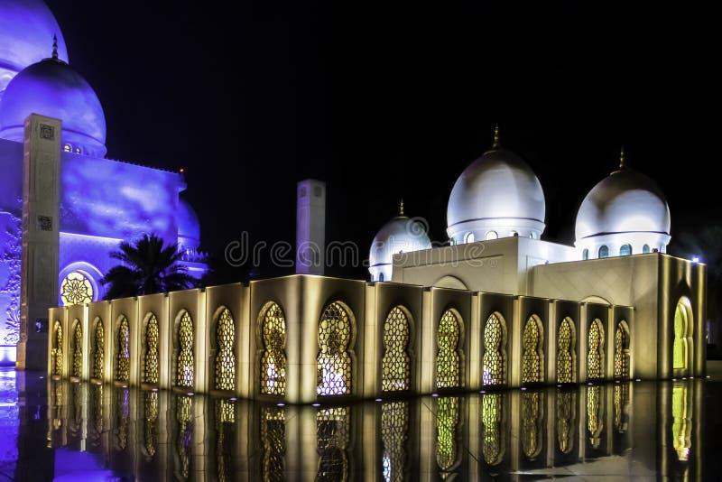 Sheikh Zayed Tomb stock image