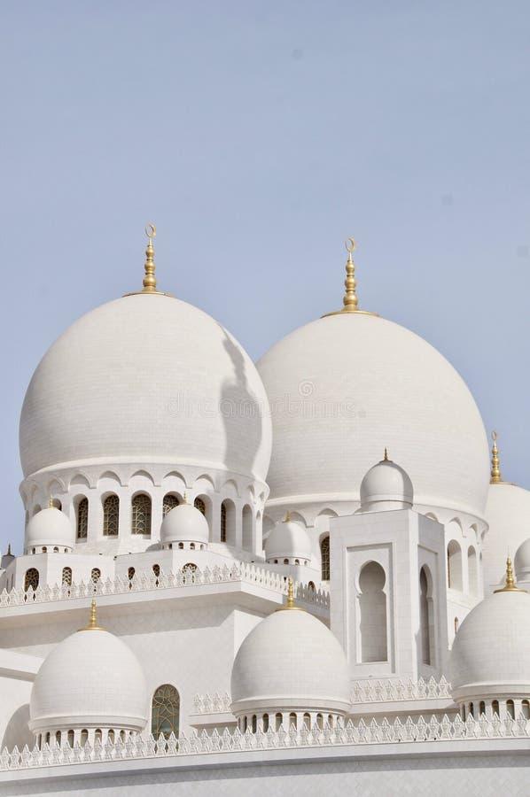 Sheikh Zayed Uroczysty meczet, Abu Dhabi emiraty obrazy stock