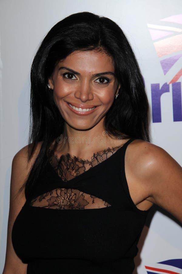 Sheila Shah en el lanzamiento oficial de BritWeek, localización privada, Los Ángeles, CA 04-24-12 imagenes de archivo