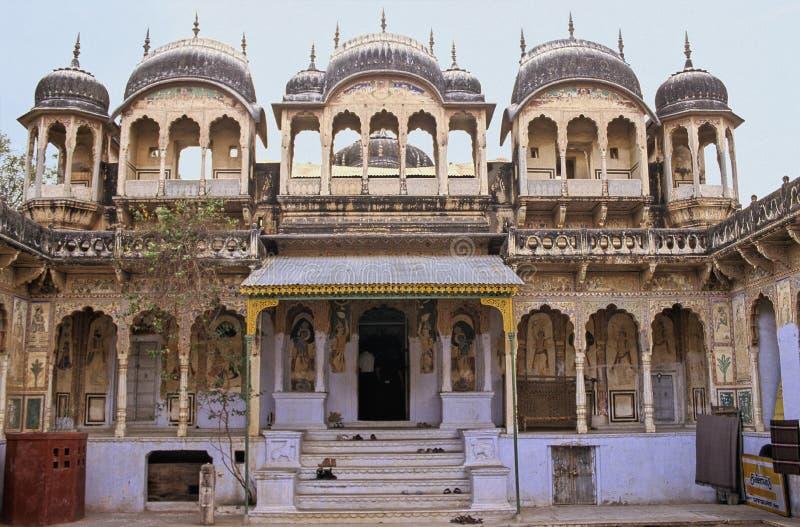 Shekhawati temple royalty free stock photo