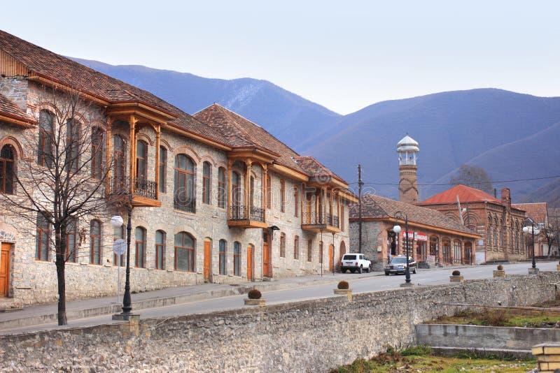 Sheki city, Azerbaijan royalty free stock photos