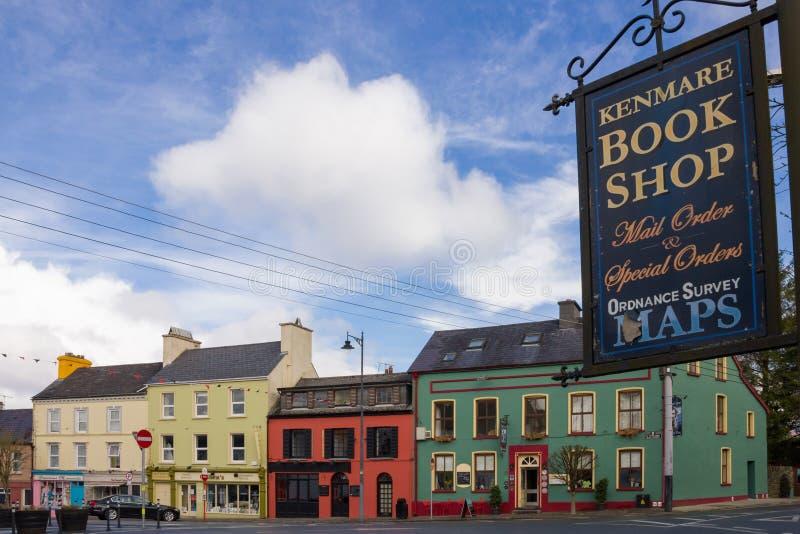 Shelbourne St Kenmare kerry ierland royalty-vrije stock afbeeldingen