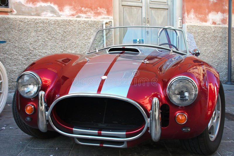 Shelby AC Cobra royalty free stock image