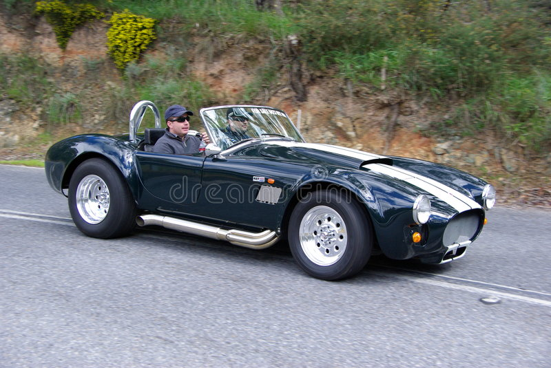 Shelby AC Cobra royalty free stock photo