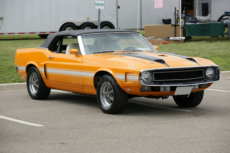 Download Shelby Convertible stock photo. Image of 1970, muscle - 6546006