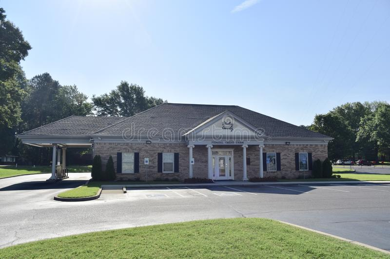 Shelby County Federal Credit Union, Memphis, TN royalty-vrije stock foto