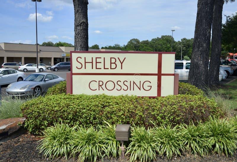 Shelby Crossing Shopping Plaza, Memphis, TN foto de stock