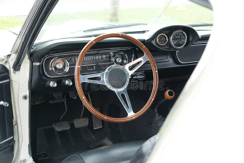 Shelby Dashboard stock photography