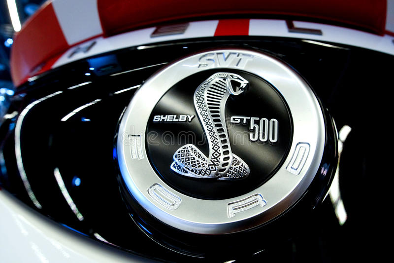Shelby Mustang stock photo