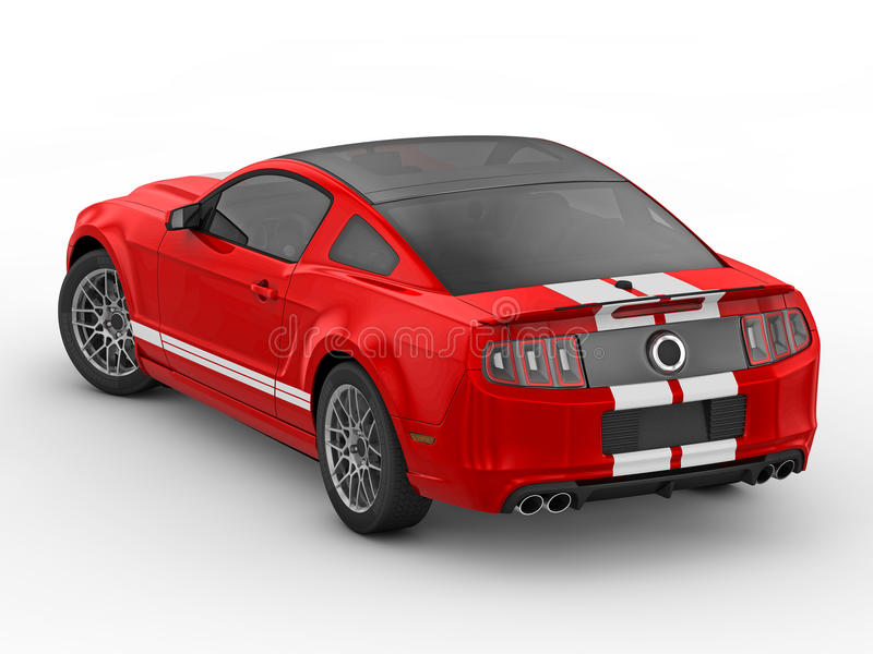 Shelby Mustang GT500 (2013) stock photography