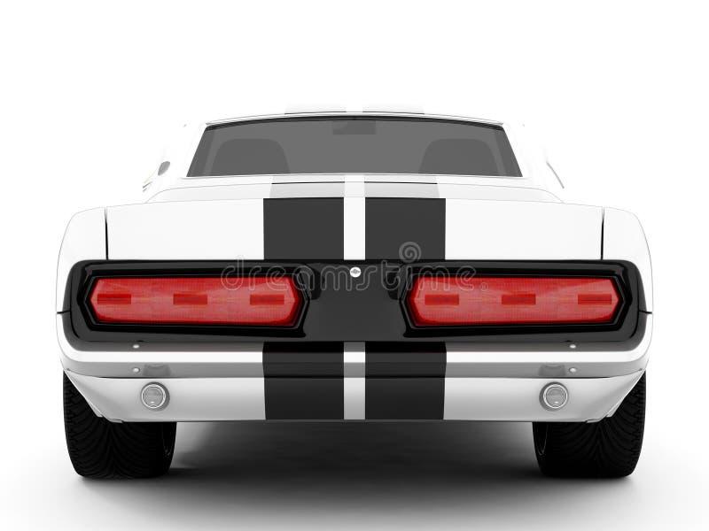 Shelby Mustang GT500 vektor abbildung