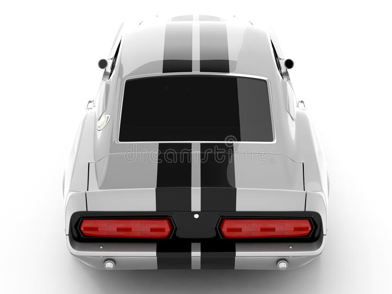 Shelby Mustang GT500 stock photo