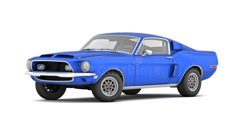 Shelby Mustang GT500KR (1968) stock photos