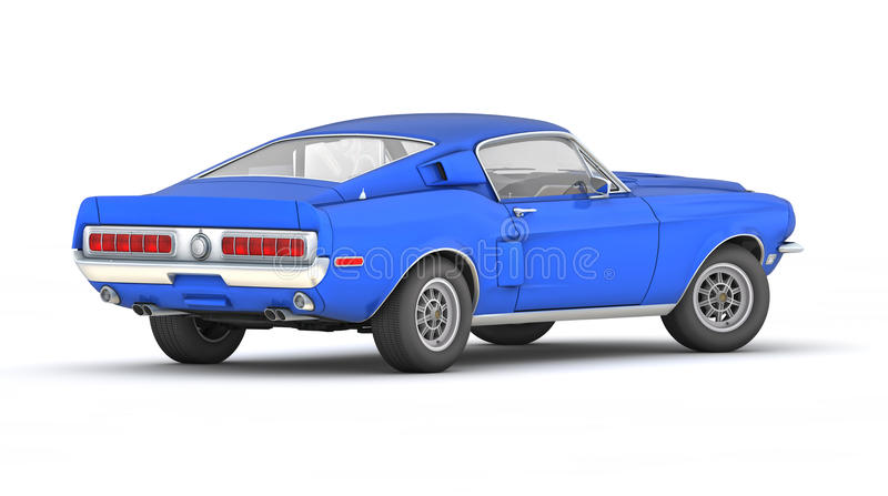 Shelby Mustang GT500KR (1968) stock photography