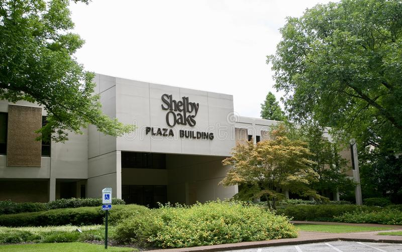 Shelby Oaks Plaza Building, Memphis TN royalty free stock photo