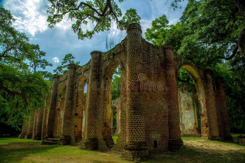 Sheldon Church Ruins photo libre de droits