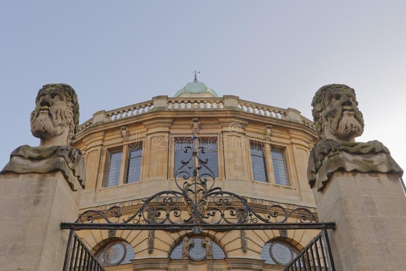 Sheldonian剧院牛津,英国 图库摄影