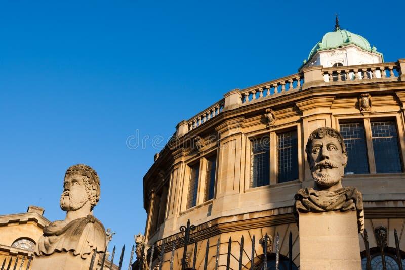 sheldonian England theatre Oxford obraz royalty free