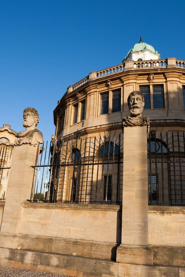 sheldonian Oxford theatre zdjęcia stock