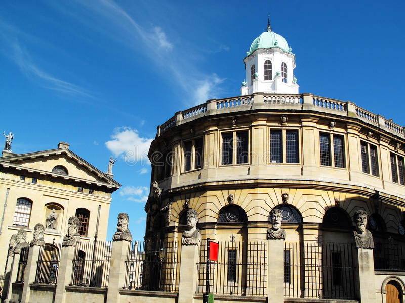 Sheldonian Theatre Stock Photography
