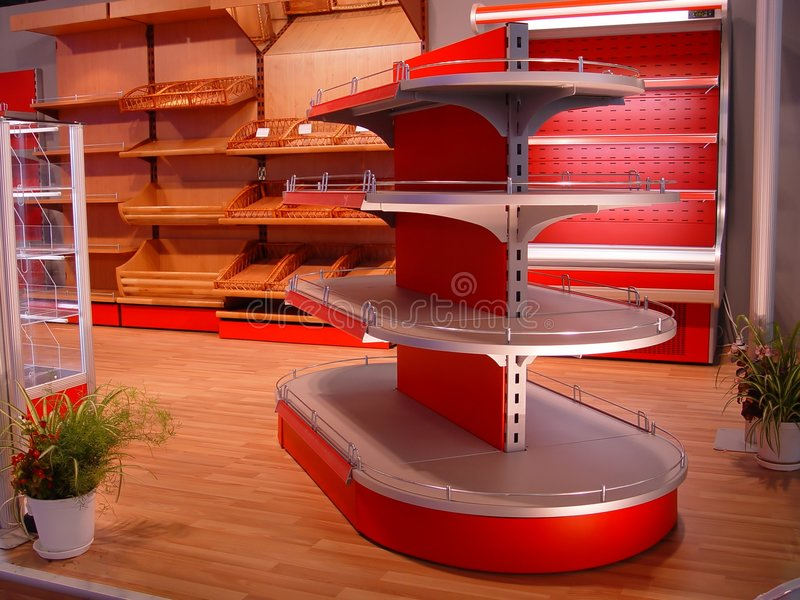 Download Shelf stock photo. Image of empty, interior, stand, sell - 2417918
