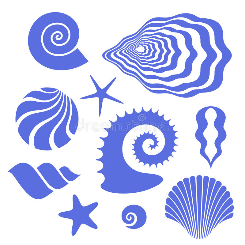 Shell royalty ilustracja