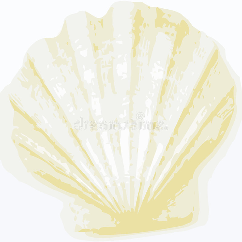 Shell background (vector). Abstract background made to the computer stock illustration