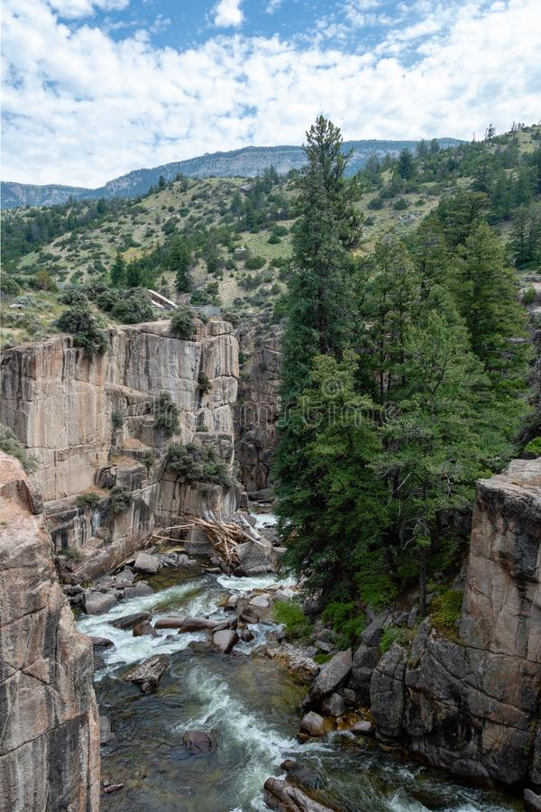 Shell Canyon, Wyoming photos libres de droits