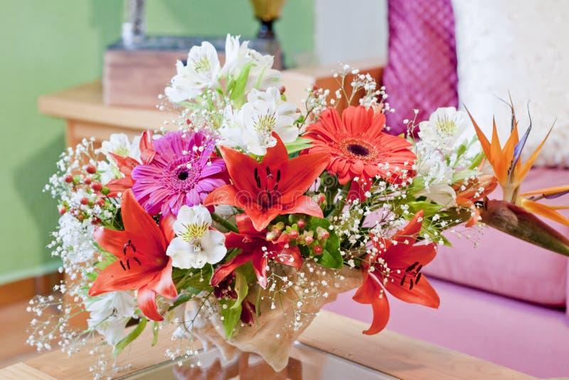 Shell Centerpiece florale photographie stock