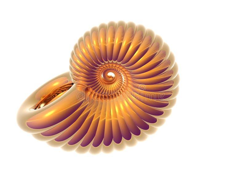 Shell de oro libre illustration