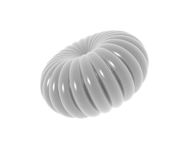 Shell de plata stock de ilustración