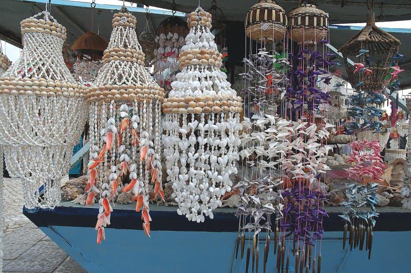Shell Decoratie stock foto's